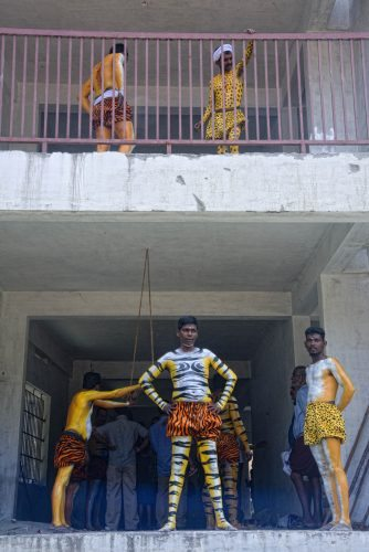 India: Pulikali Festival, the Tiger Dance 1