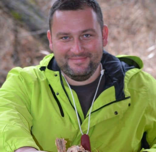Jason A Hunt, author of Bushcraft First Aid. Kevin Baxter photo.