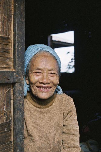 M'Kang woman in Burma.