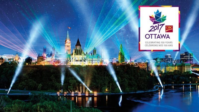Ottawa 2017 marks the 150th birthday for Canada, and the capital plans to celebrate with plenty of events.