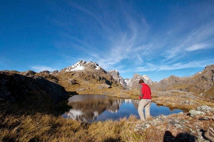 Ask locals to help you find the perfect place to Freedom camp in New Zealand.
