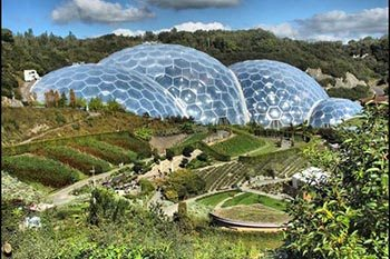 The Eden Project: Cornwall, England