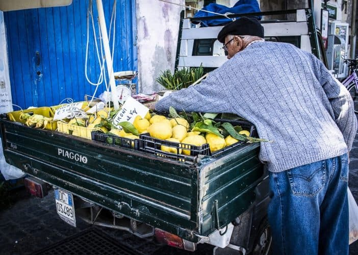 Like limoncello, Italy's famous lemon liqueur? The best lemons in Italy are in Campania, the region that includes Naples and Procida.