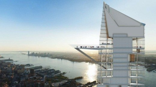 Hudson Yards Observation Deck. Expect to get a chance to see some atonishing views from the deck by 2019. Photo by e-architect.co.uk