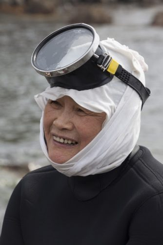 Japan's Ama are famous women throughout the country for their cold water diving.