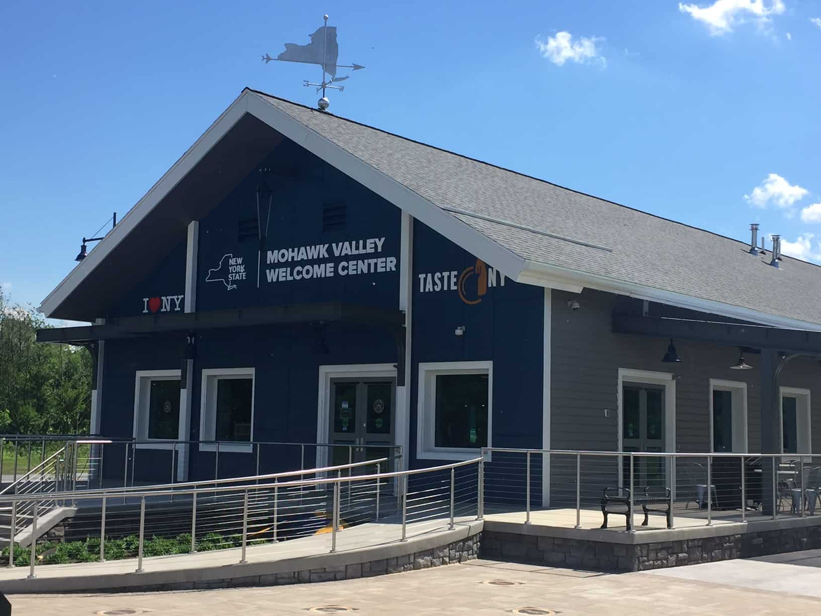 The brand new Mohawk Valley Welcome Center at Lock 13
