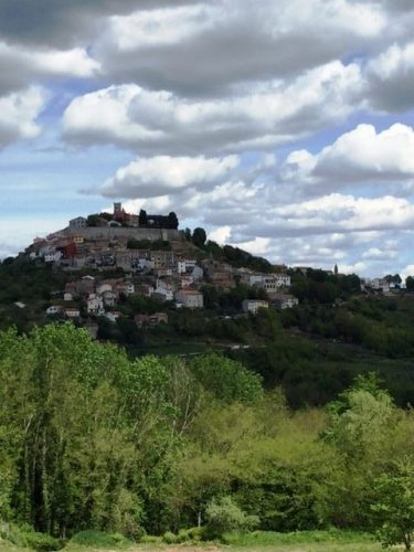 Motovun, Croatia, in Dalmatia. Mari Gold photos.