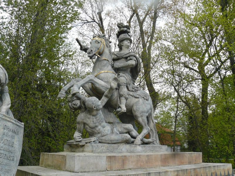 Polish King John Sobieski saved Europe from a Turkish invasion in 1683.