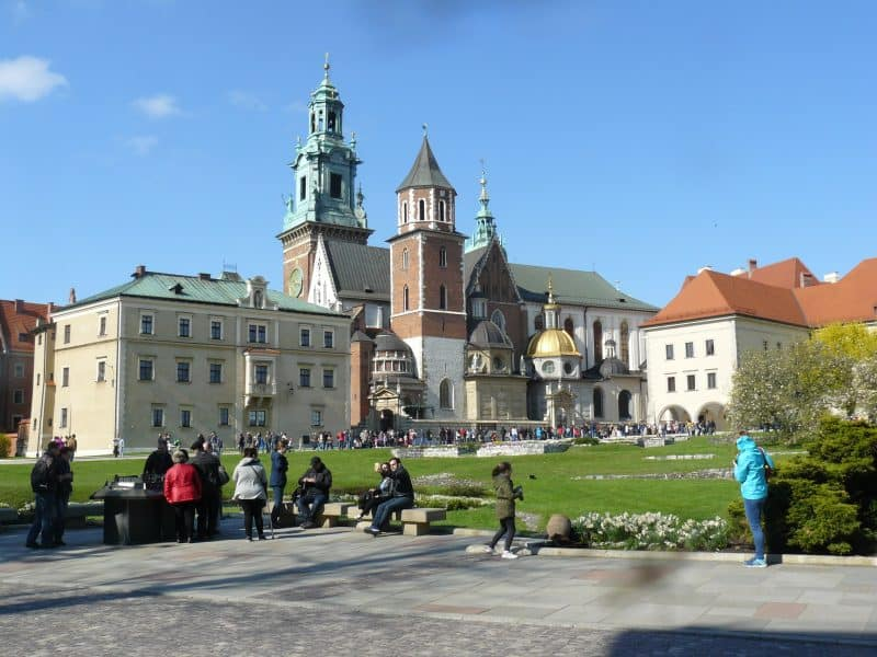 The Wawel Royal Castle dates back to the 13th Century.
