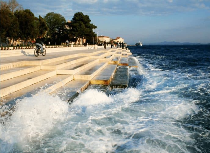 The Sea Organ at Zadar, Croatia.