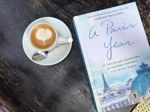 The cover of Janice MacLeod's novel, A Paris Year, day-to-day adventures in the most romantic city in the world.