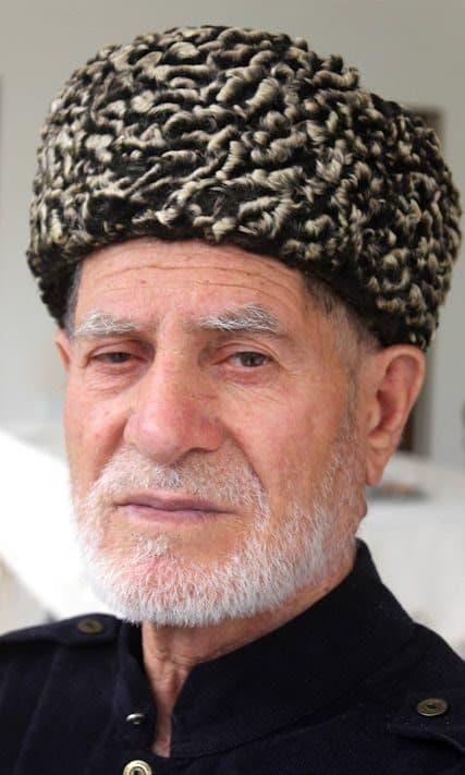 A Tazbichi, a Chechen elder.