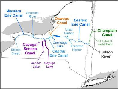 Amsterdam, NY: The Erie Canal is Overflowing with History 1