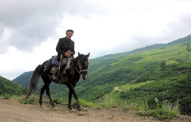 Kala Koreish horseman.