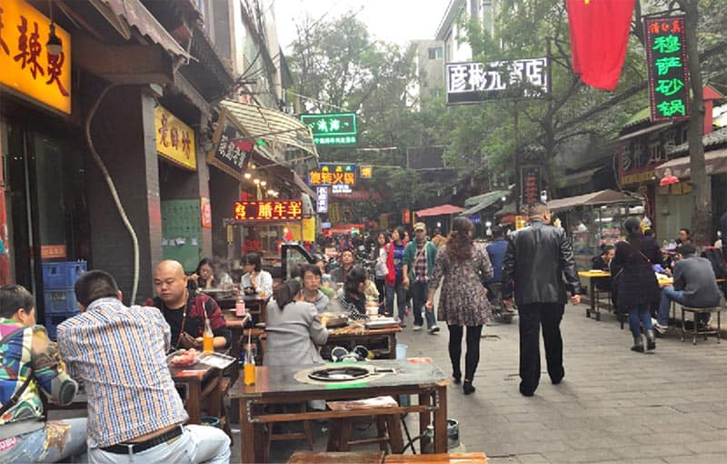 13 Muslim Street in Xi'an, China. Patti Morrow photos.