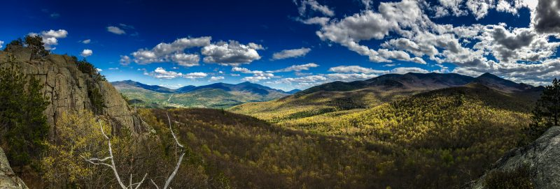 Adirondack Park view from Owl's Head mountain.