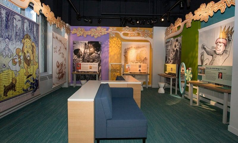 """In the """"Children's Literature Gallery,"""" kids can explore the world of reading and writing, and attend story-times. Photo courtesy of Barry Brecheisen"""
