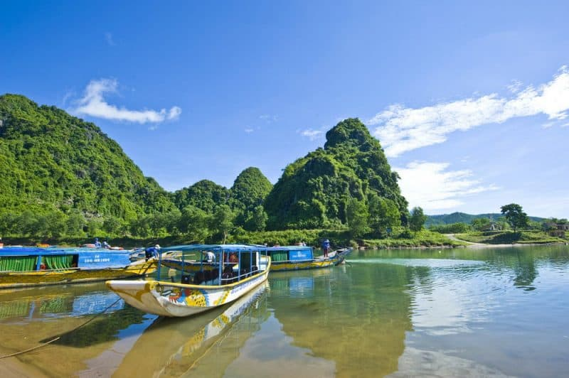 Quang Binh Province, home to the massive caverns of Paradise Cave and Phong Na. Photo courtesy of Hanoi Tour Planner