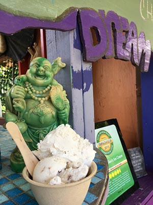 The delicious ice cream and fun vibe at Coconut Glen's is well worth a stop.