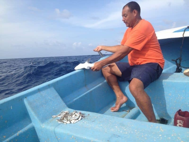 Deep sea fishing on small boats is among the activities visitors can experience on Little Corn Island off the coast of Nicaragua.