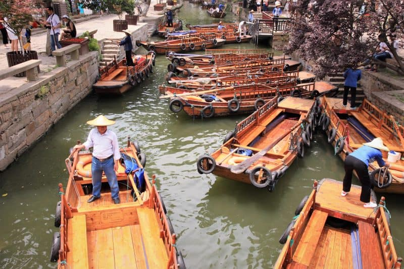 Boats at Tongli.