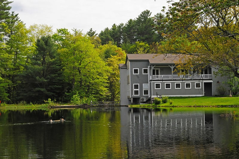 The Mill, one of many lodging options available to guests at Purity Spring Resort. Photo courtesy of Purity Spring Resort