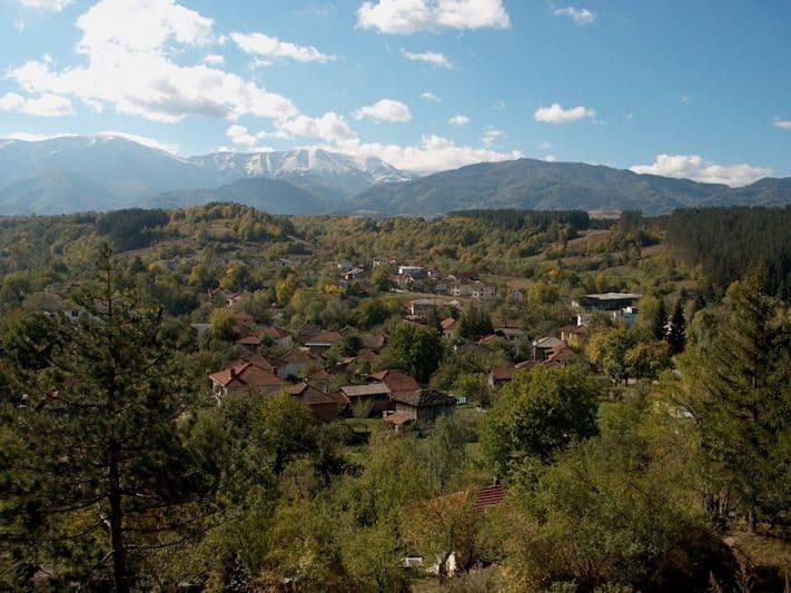 Apriltsi is located in the folds of Stara Planina mountain, Bulgaria.