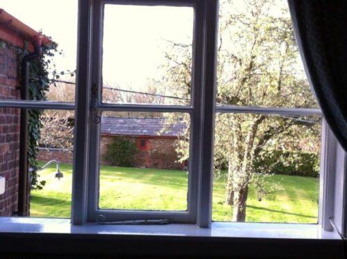 A view of the Ash Farm Country House garden.