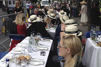 Bloomsday in Dublin, Ireland