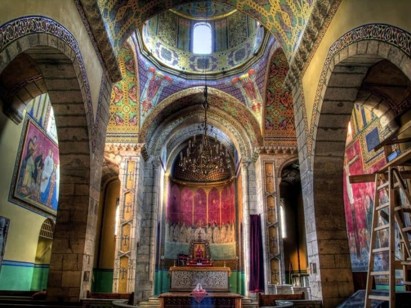 A wonderfully ornate Armenian Cathedral in Lviv. Photo by Robin Schuil