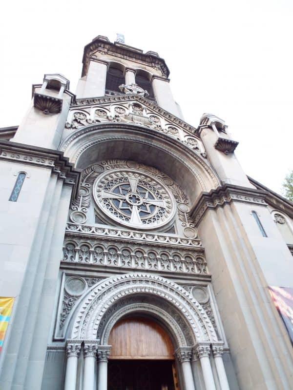Iglesia de Nuestra Señora Fatima, in La Roma, Mexico City.
