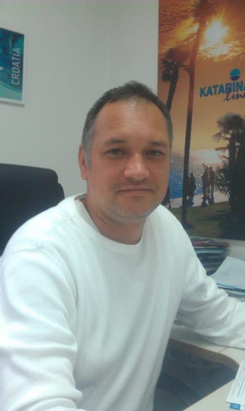 Katarina Line's Marketing Director, Daniel Hauptfeld. Photo courtesy of Mario Almonte