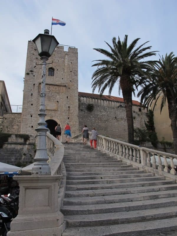 Gate to the old town of Korcula