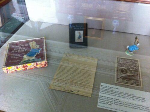 The Harry Potter exhibit at Tatton Park.