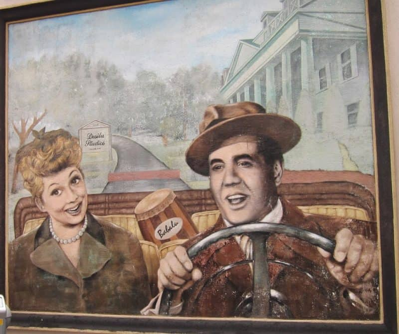 Lucille Ball and Desi Arnez Culver City Mural.