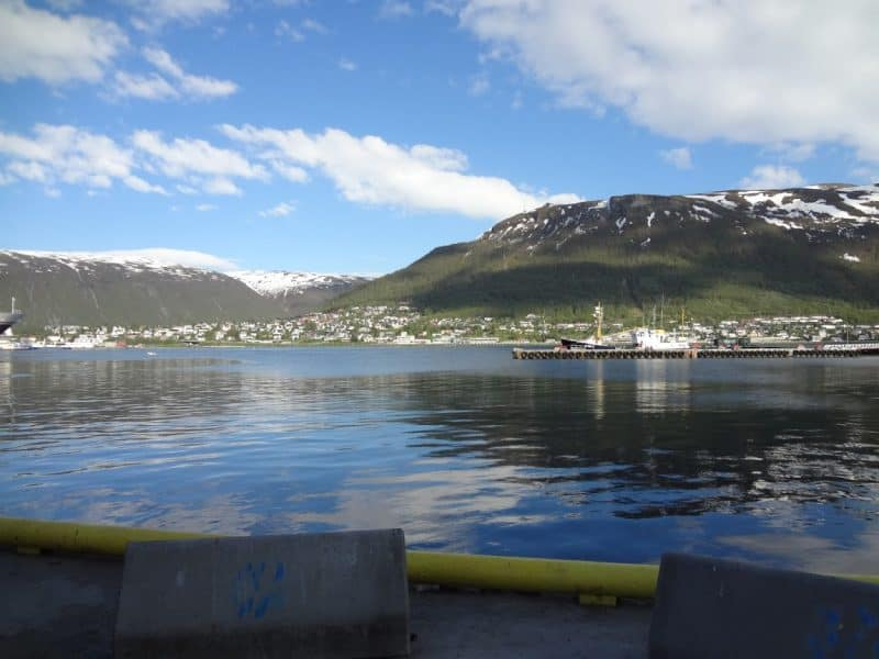 Midnight in Tromso, Norway. Innovation Norway photos.