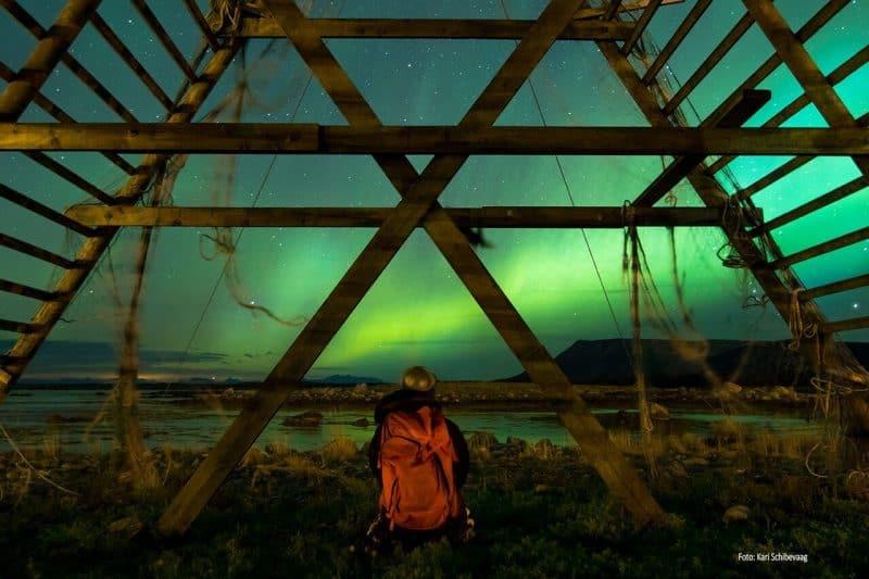 The stunning Northern Lights in Tromso. Kari Schibevaag/Norway. Innovation Norway photos.