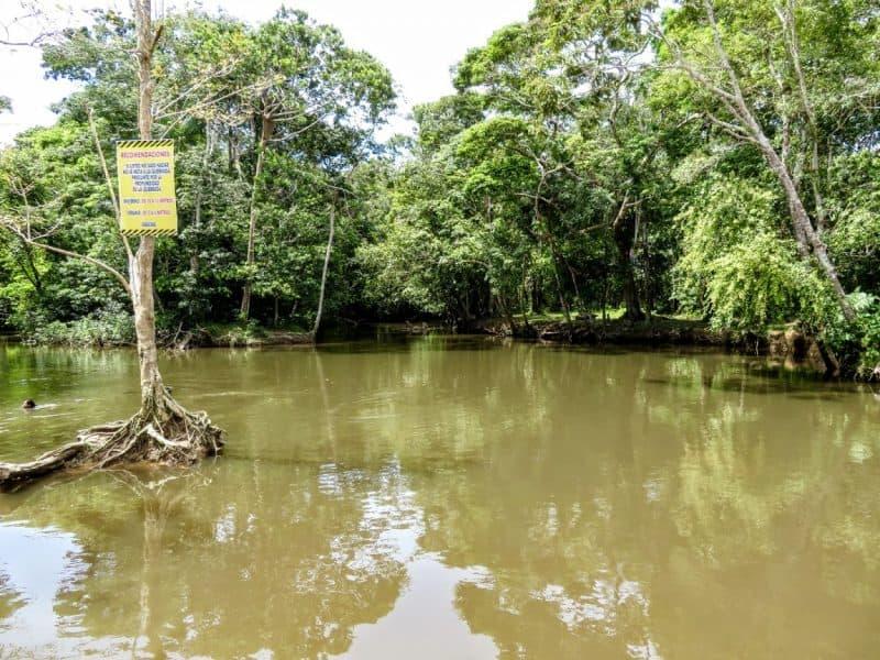 Rio Takana swimming hole