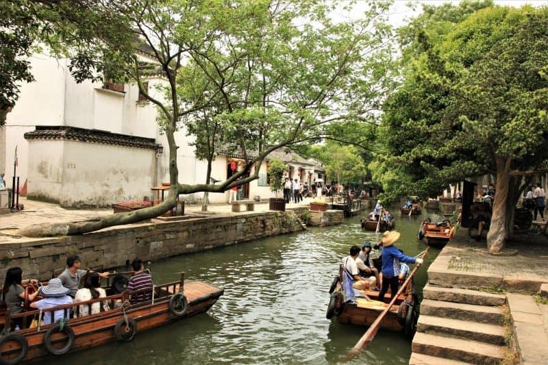 Tongli Water Town River Walk.