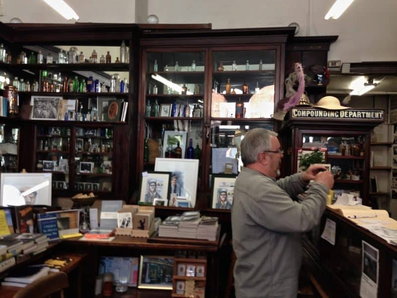 Sweny's Pharmacy, a place that figures large into James Joyce's Dublin days.