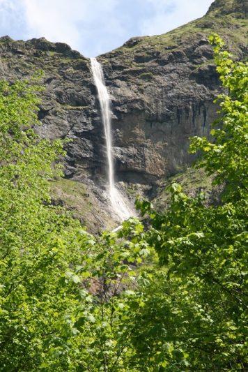 Vidimsko Pruskalo waterfall