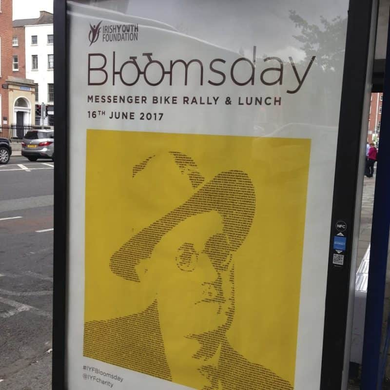 Bloomsday is a weeklong event in Dublin, with many different events.