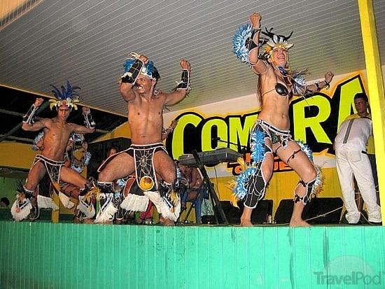 Dancers at La Comara in Tabatinga, near Leticia, Colombia.