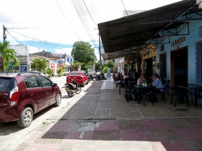 Downtown Leticia.