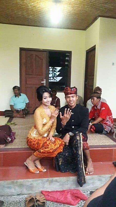 Engagement day, Ubud Bali.