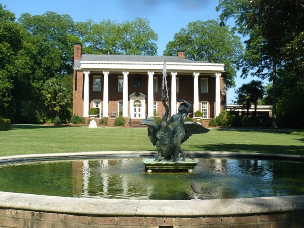 "The home of Ben and Ralph Miller in Covington, which was used as the Governor's Mansion in ""The Vampire Diaries."""
