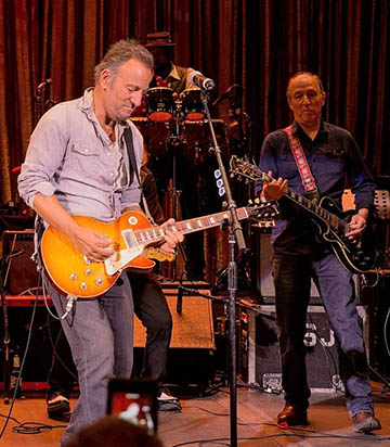 Springsteen has been known to pop in for a surprise jam session. He famously decided to hold rehearsals for a tour inside Convention Hall, welcoming all.