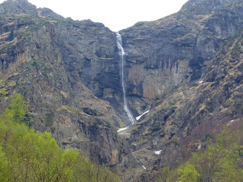 Vidimsko waterfall in Vidimsko Praskalo, Apriltsi, Bulgaria.