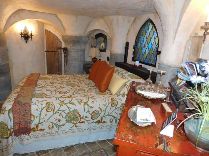 The Dungeon Room is available to rent at Wing's Castle.