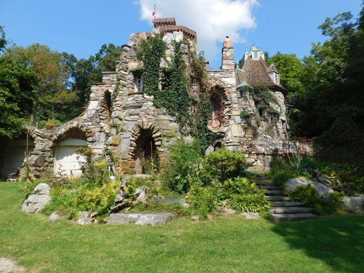 A handcrafted masterpiece, Wing's Castle located in Miillbrook, New York.
